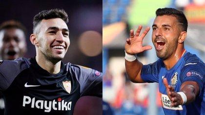 Sevilla y Getafe se estrenan a lo grande en Europa