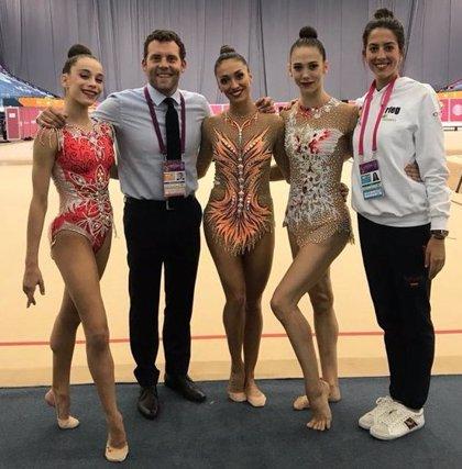 Polina Berezina se clasifica para la final individual de los Mundiales de Gimnasia Rítmica