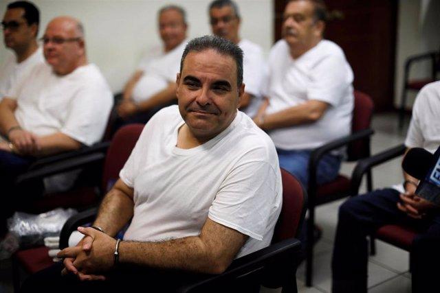El expresidente de El Salvador Antonio Saca