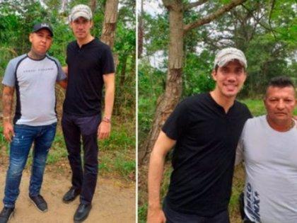 Difunden nuevas imágenes de Guaidó junto a miembros de 'Los Rastrojos'