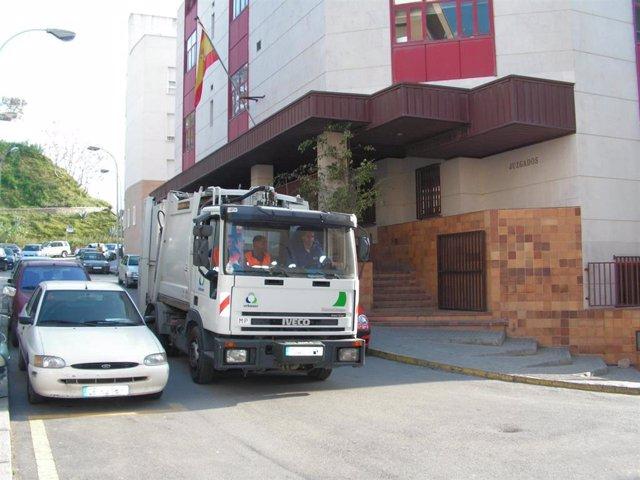 Imagen de archivo de los Juzgados de Ceuta