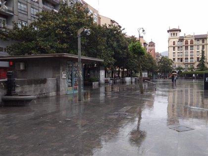 Activado el aviso amarillo para esta tarde en Euskadi por precipitaciones intensas