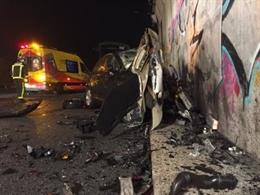 Foto del accidente