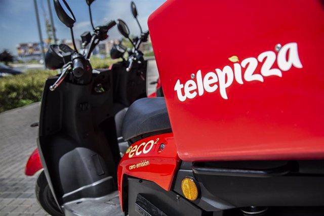 Motos eléctricas de Telepizza
