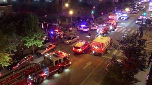 AMP.- EEUU.- Al menos un muerto y cinco heridos por un tiroteo en Washington D.C.