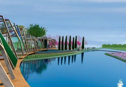 Murcia lleva la esencia de sus jardines a China e inaugura el primer parque mediterráneo de Nanning