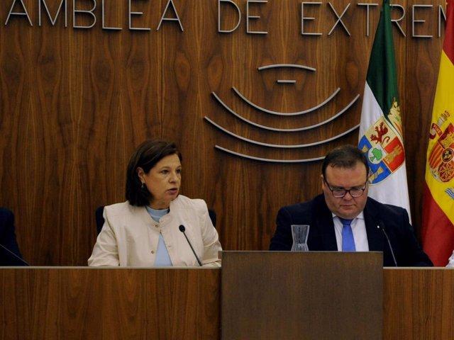 Pilar Blanco-Morales, en la Asamblea.