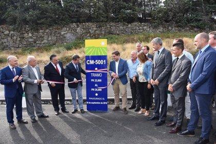 Junta impulsa Plan de Mejora de carreteras en la Sierra de San Vicente acondicionando 16 kilómetros de CM-5001 y CM-5005
