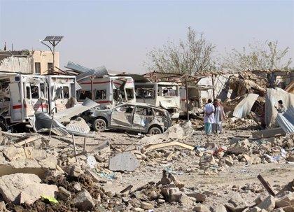 Aumentan a 39 los muertos por el ataque junto a un hospital en el sur de Afganistán
