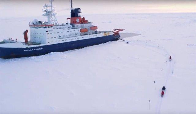 Arranca la mayor expedición científica al Ártico de todos los tiempos