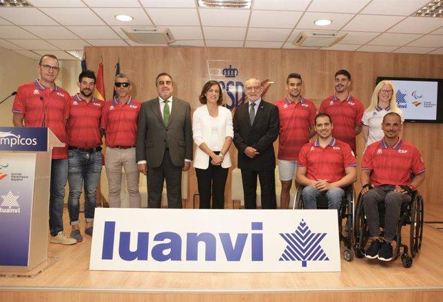 """JJ.OO.- Luanvi volverá a vestir de forma """"innovadora"""" al Equipo Paralímpico en T"""