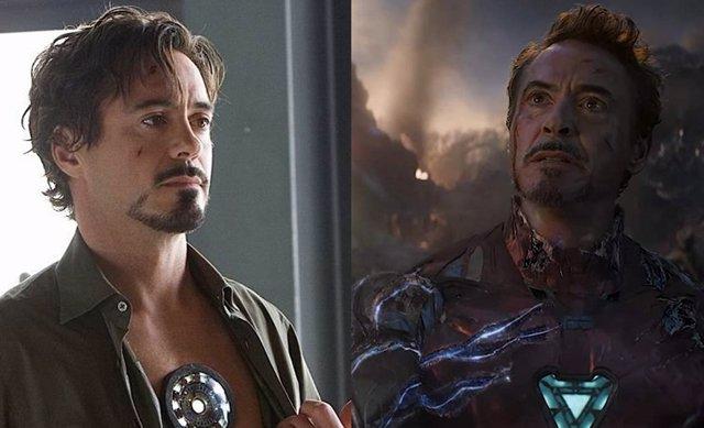Robert Downey Jr. En Iron Man y Vengadores: Endgame