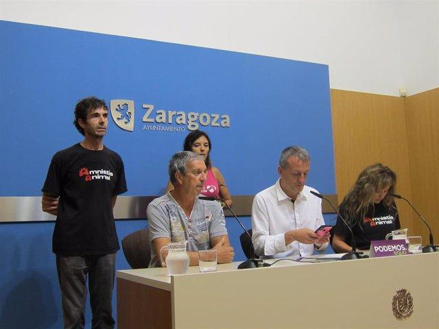 El grupo de Podemos-Equo critica que el Ayuntamiento no recurra el auto judicial sobre el circo con animales
