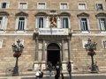 El Tribunal Superior catalán da 48 horas a Torra para retirar la pancarta sobre los presos del Palau y el lazo amarillo