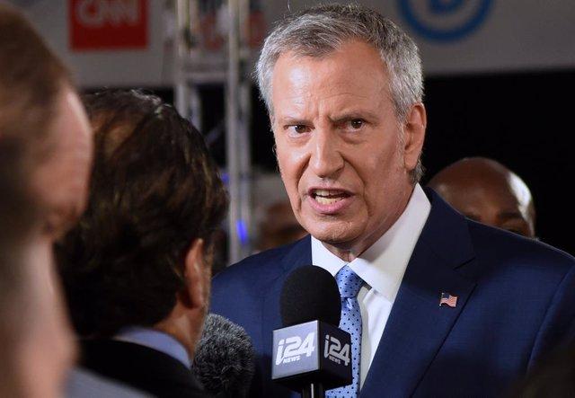 """EEUU.- El alcalde de Nueva York abandona las primarias demócratas: """"Está claro q"""