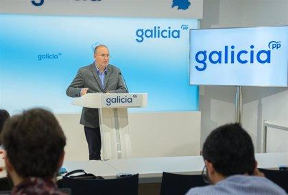 """El PP gallego renueva su imagen corporativa con un logotipo que reduce las siglas y da todo el protagonismo a """"Galicia"""""""