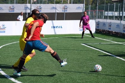 España, semifinalista en el Europeo de Fútbol para Ciegos