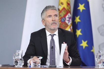 Marlaska dice que la Policía no realizó imputación contra los diputados de Podemos por la protesta de Alcoa