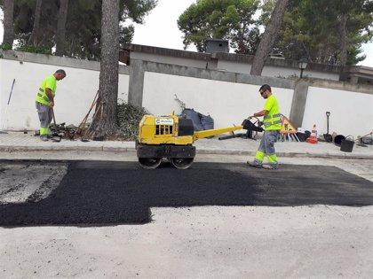 El Ayuntamiento de Paterna realiza una treintena de obras para mejorar la movilidad de La Canyada