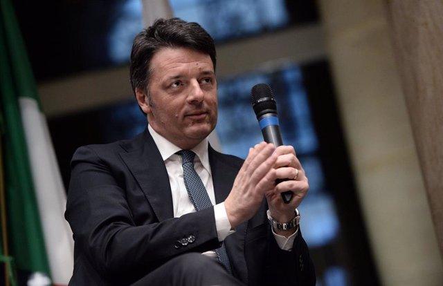 Matteo Renzi, antiguo primer ministro de Italia