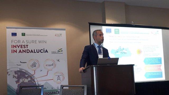 Seminario de Captación de Inversiones que ha celebrado la Agencia de Innovación y Desarrollo de Andalucía (IDEA) en Montreal.
