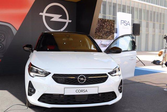 La sexta generación del Opel Corsa se presenta en Zaragoza.