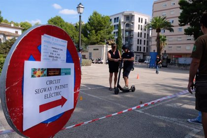 Consell de Mallorca organiza un circuito con patinetes eléctricos para celebrar la Semana Europea de la Movilidad