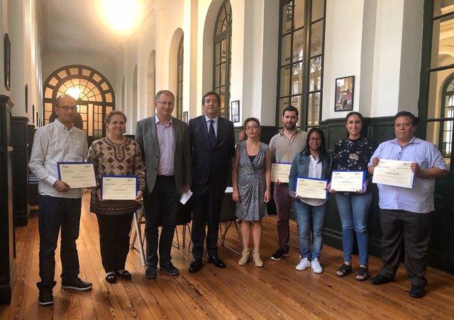 Deusto entrega a académicos latinoamericanos las becas BBVA para realizar estudi