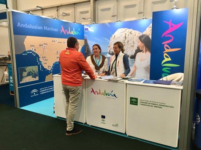 Andalucía promociona sus puertos deportivos en el Salón Náutico de Southampton