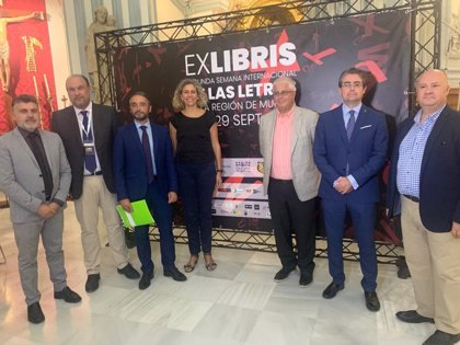 Murcia será la próxima semana en capital nacional de la cultura con la II Semana Internacional de las Letras 'ExLibris'