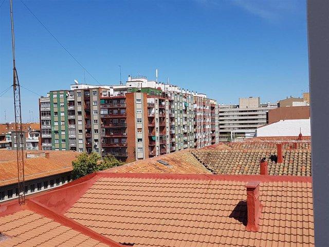 Viviendas en Aragón.