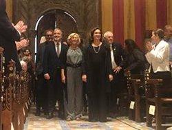 Colau recorda els independentistes presos i Open Arms en el pregó de Carmena (EUROPA PRESS)