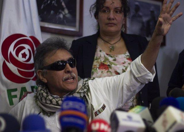El disidente de las FARC 'Jesús Santrich'