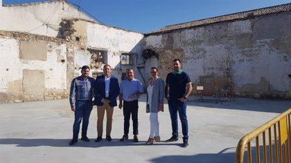 Diputación de Jaén destina en Ibros más de 179.000 euros para mejorar el Paseo Santa Margarita y construir una nave