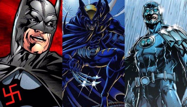 El Batman Nazi, Owlman o Dark Claw, algunas de las versiones de Batman