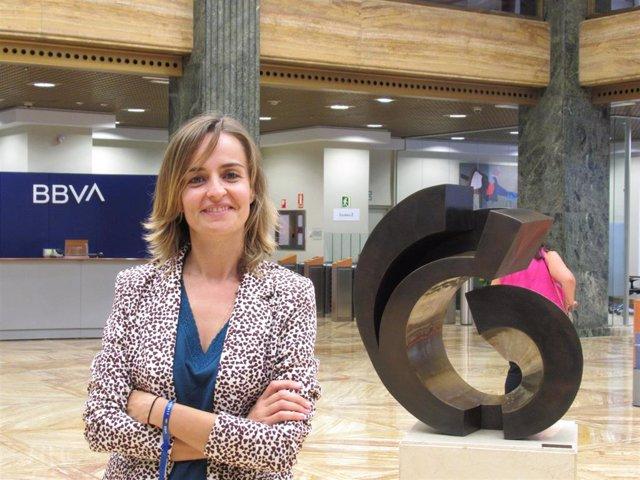 Ízaro Amilibia, discipline manager en el área de Talento y Cultura de BBVA