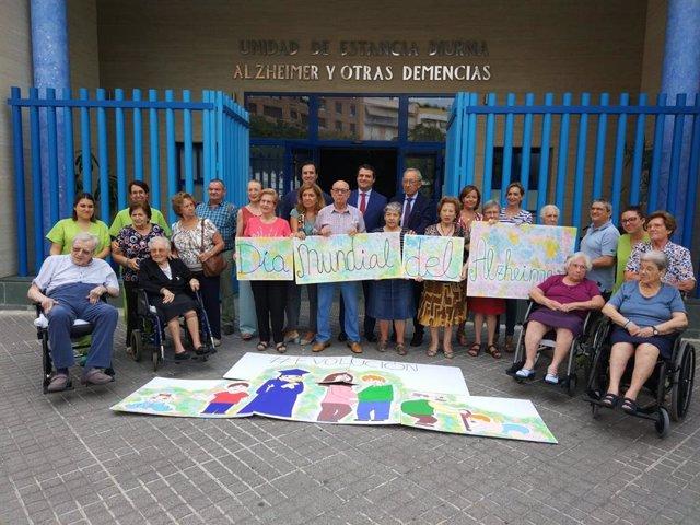 Celebración del Día Mundial del Alzheimer en la Asociación San Rafael de Alzheimer y Otras Demencias de Córdoba