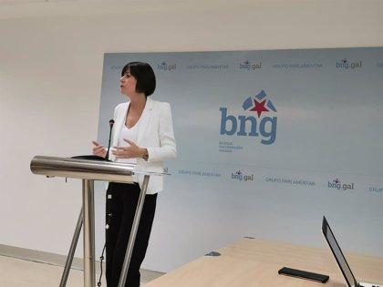 """Ana Pontón (BNG) tacha de """"pitorreo"""" y """"frívolo"""" que el Gobierno libere ahora los fondos de las CCAA"""
