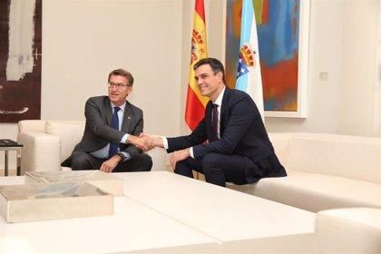 Las relaciones entre Xunta y Gobierno se tensaron con Sánchez en La Moncloa, pero sin llegar al Constitucional