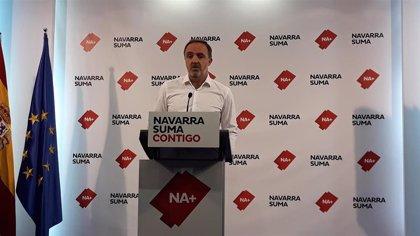 """Esparza dice que """"votar al PSN es votar al nacionalismo vasco"""" y afirma que Navarra Suma es la """"única"""" alternativa"""