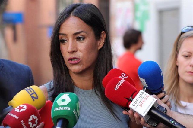 Imagen de archivo de la vicealcaldesa de Madrid, Begoña Villacís.