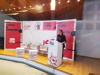 """Ana Sánchez avisa de que los socialistas tienen """"líneas rojas"""" que no van a cruzar para conseguir el poder"""