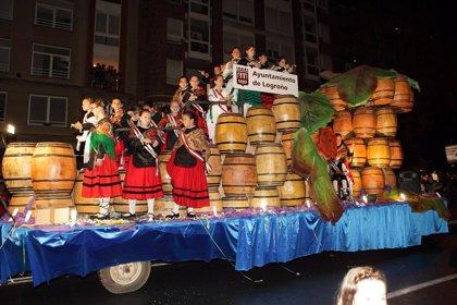 Siete carrozas participarán en el desfile de las fiestas de San Mateo 2019