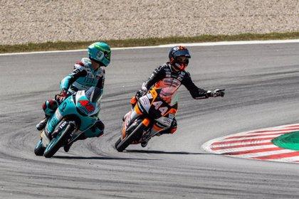 Àlex Márquez y Canet, 'poles' en Moto2 y Moto3 en MotorLand Aragón