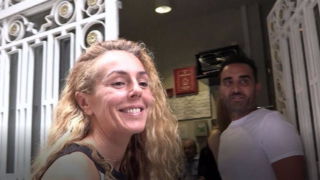 Rocío Carrasco en Granada con Fidel Albiac