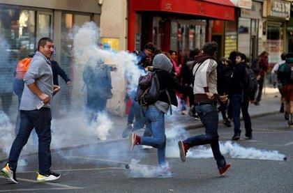 Al menos 163 detenidos durante las protestas de los 'chalecos amarillos' en París
