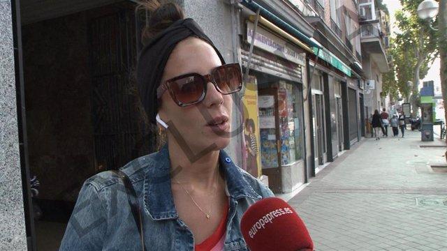 Anabel Pantoja en Madrid tras su expulsión de GH VIP