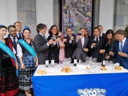 """El alcalde de Oviedo destaca el """"éxito total"""" de las fiestas de San Mateo"""