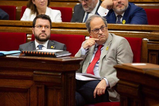 El president de la Generalitat, Quim Torra. Foto d'arxiu