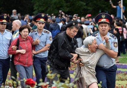 Al menos 57 detenidos por participar en manifestaciones no autorizadas en Kazajistán